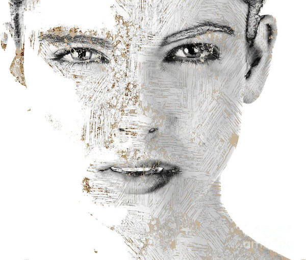 Wall Art - Digital Art - Facing - A1v1 by Variance Collections