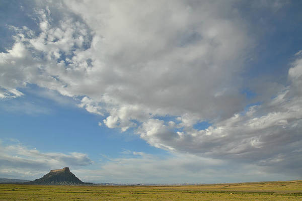 Photograph - Factory Butte Of Utah by Ray Mathis