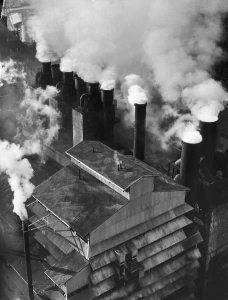 Merchandise Photograph - Factory Smoke by Margaret Bourke-white