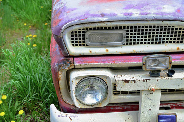 Photograph - Fade To Pastel Old Truck by Kae Cheatham