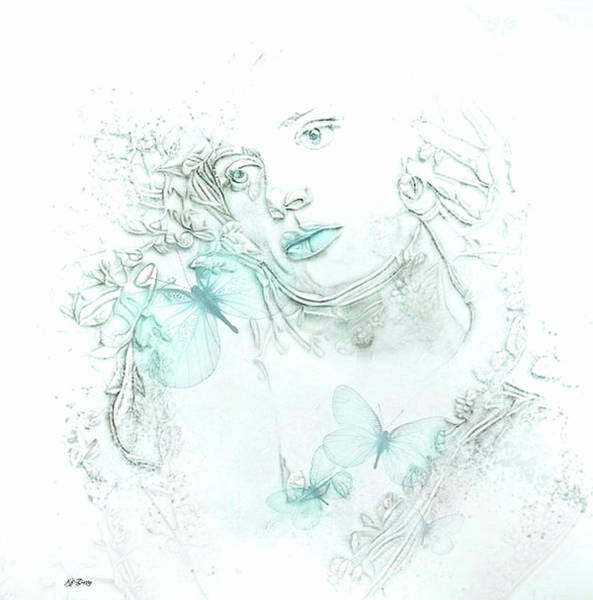 Faded Mixed Media - Faded Beauty 006 by G Berry