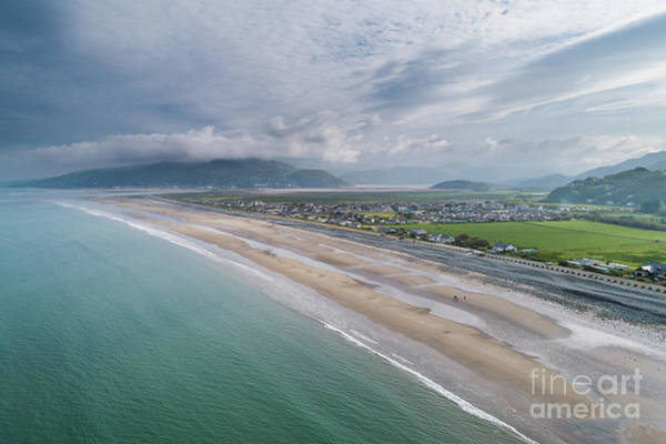 Photograph - Fairbourne, Snowdonia, Wales - From The Air #1 by Keith Morris