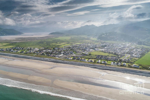 Photograph - Fairbourne, Snowdonia, Wales - From The Air #2 by Keith Morris