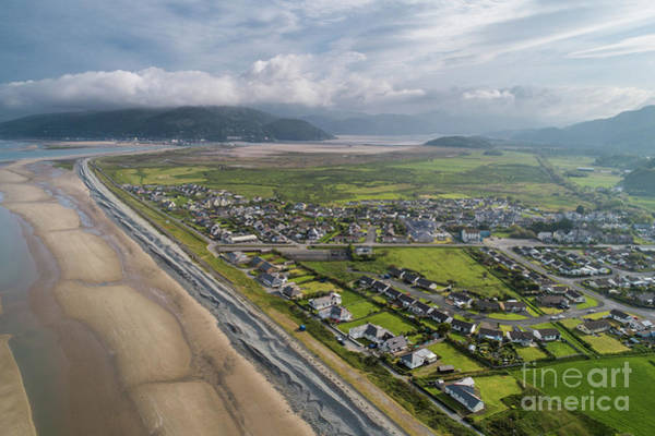 Photograph - Fairbourne, Snowdonia, Wales - From The Air #3 by Keith Morris