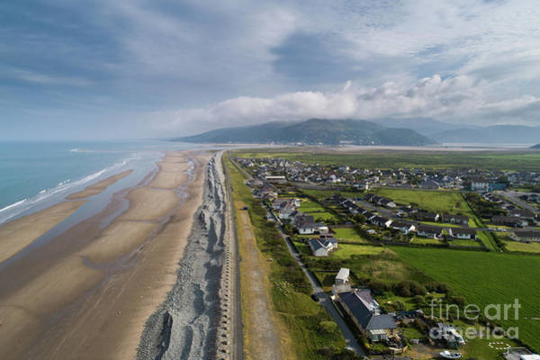 Photograph - Fairbourne, Snowdonia, Wales - From The Air #4 by Keith Morris