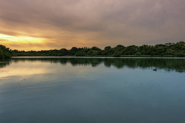 Photograph - Fairhaven Woodland Sunset On The Broad by Scott Lyons