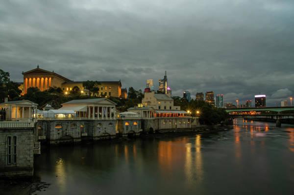 Photograph - Fairmount Waterworks In The Night - Philadelphia by Bill Cannon