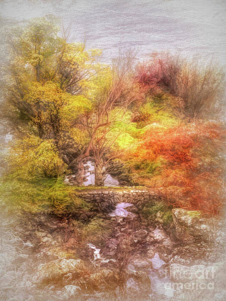 Haweswater Wall Art - Mixed Media - Fairy Footbridge, Cumbria by Linsey Williams