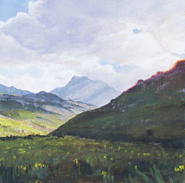 Painting - Fairy Glen by Christopher Reid