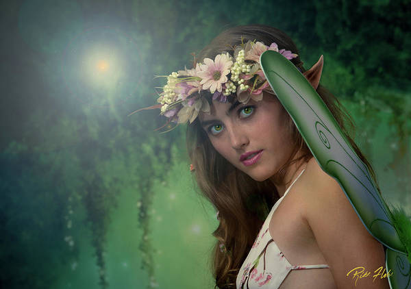 Photograph - Fairy Stare by Rikk Flohr