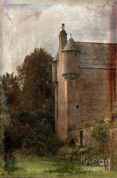 Liz Digital Art - Fairytale Castle by Liz Alderdice