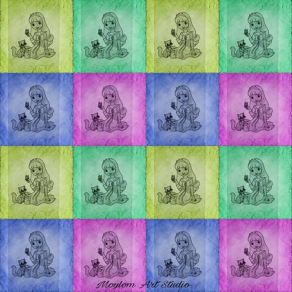 Digital Art - Fairytales 3 by Moylom Art Studio