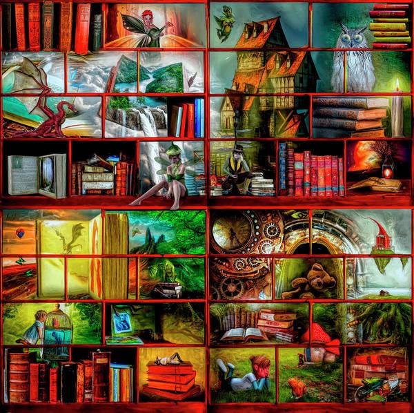 Digital Art - Fairytales by Debra and Dave Vanderlaan