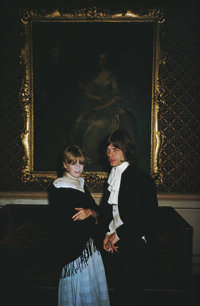 Mick Jagger Photograph - Faithful Couple by Slim Aarons
