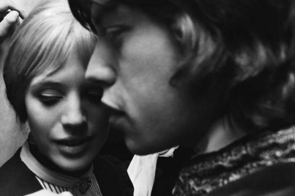 Actress Photograph - Faithfull To Jagger by C. Maher