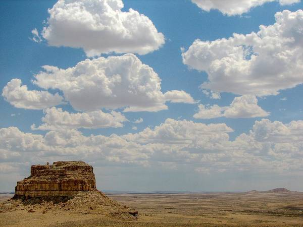 Chaco Canyon Wall Art - Photograph - Fajada Butte by Rovingmagpie@flickr.com