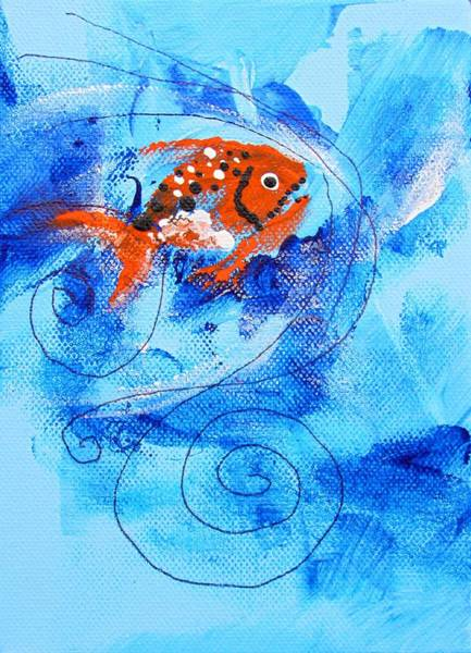 Painting - Fake Nemo Fish by J Vincent Scarpace