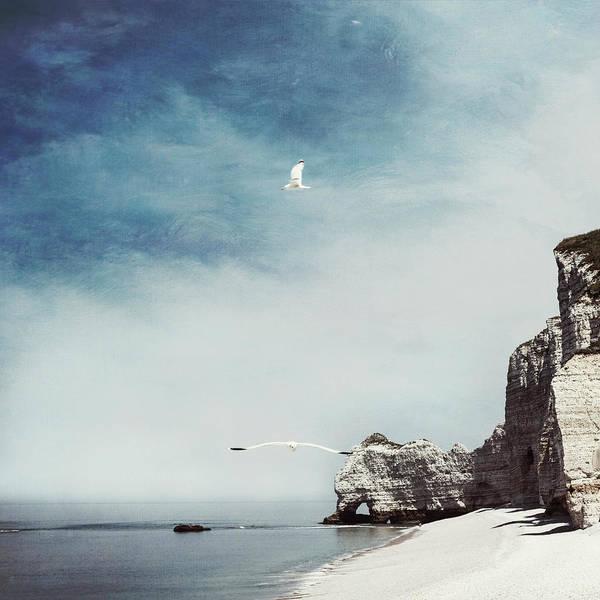Photograph - Falaise D'amont - Etretat - France by Dirk Wuestenhagen