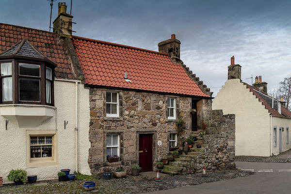 Photograph - Falkland Cottages by Ross G Strachan