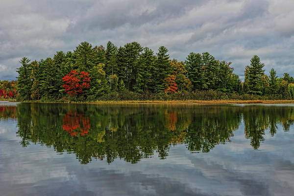 Photograph - Fall At Indian Lake by Dale Kauzlaric