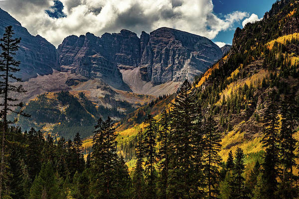Photograph - Fall At Maroon Bells by Bill Gallagher