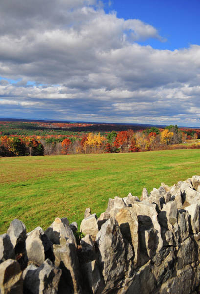New England Autumn Photograph - Fall At Western Massachusetts by Www.ferpectshotz.com