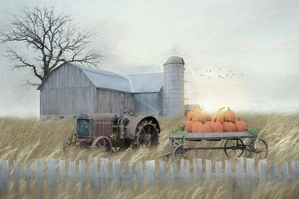 Wall Art - Mixed Media - Fall Blessings by Lori Deiter