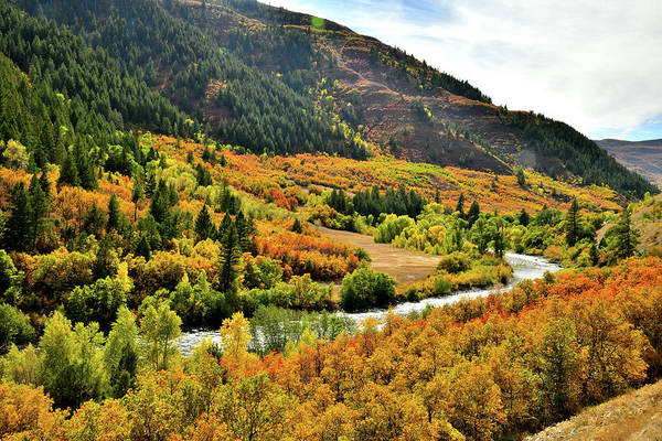 Photograph - Fall Colors As Seen From Highway 133 by Ray Mathis