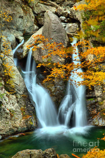 Photograph - Fall Colors At Bash Bish Falls by Adam Jewell