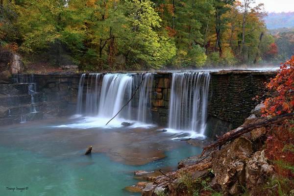 Photograph - Fall Colors At Peyton Falls by Wesley Nesbitt