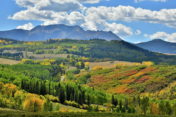 Photograph - Fall Colors Coming To Wilson Mesa by Ray Mathis