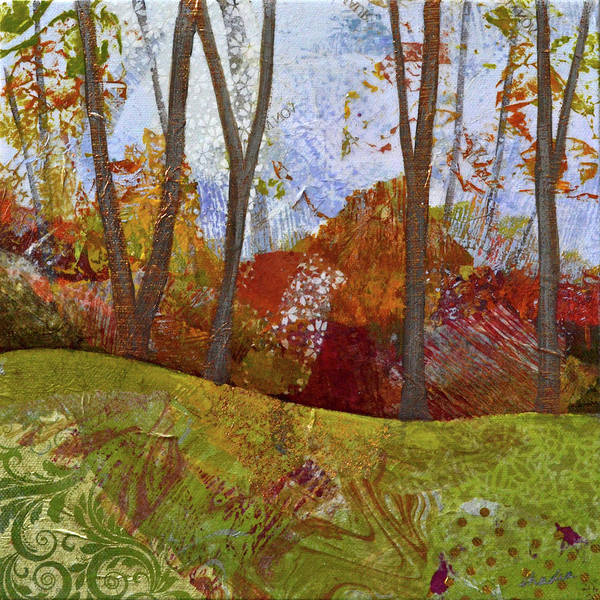Wall Art - Painting - Fall Colors I by Shadia Derbyshire