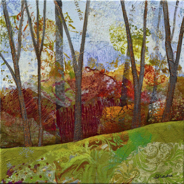 Wall Art - Painting - Fall Colors II by Shadia Derbyshire