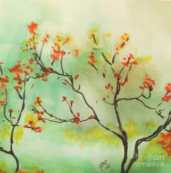 Wall Art - Painting - Fall Colors by Jennifer Thomas