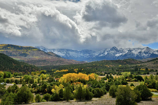 Photograph - Fall Colors Near Dallas Divide by Ray Mathis