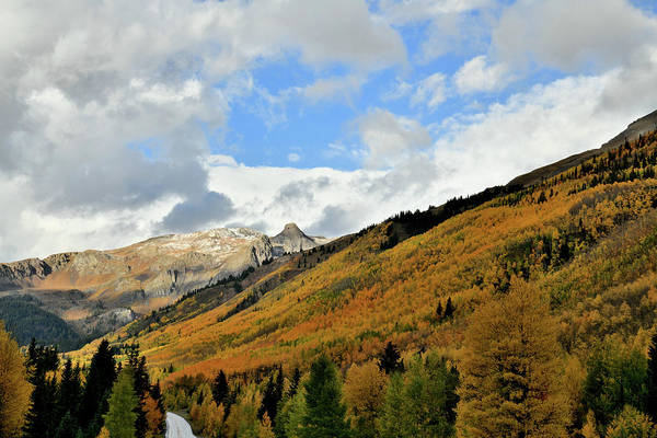 Photograph - Fall Colors Near Red Mountain Pass by Ray Mathis