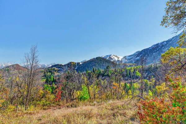Photograph - Fall Colors Near Sundance by Jim Thompson