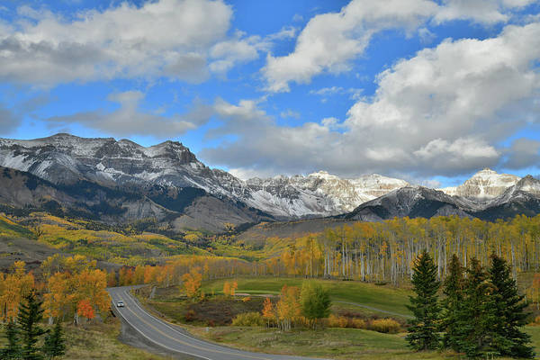 Photograph - Fall Colors Of Mountain Village Near Telluride by Ray Mathis