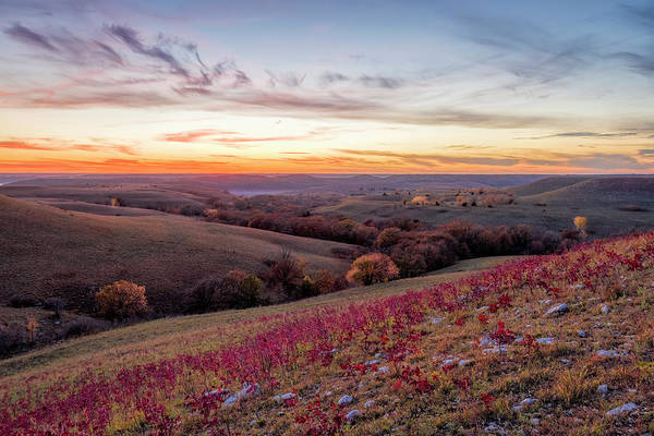 Midwest Photograph - Fall Colors by Scott Bean