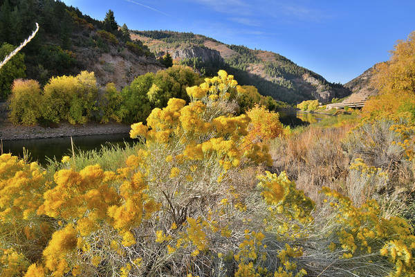 Photograph - Fall Comes To Glenwood Canyon by Ray Mathis