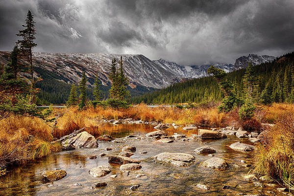Indian Peaks Wilderness Photograph - Fall Finale by Eric Glaser