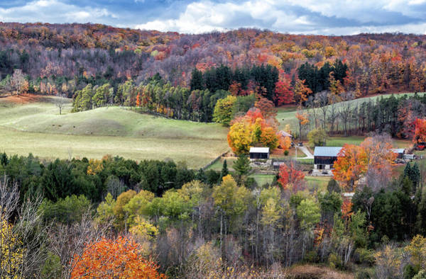 Hockley Valley Photograph - Fall Foliage by Robert Alsop