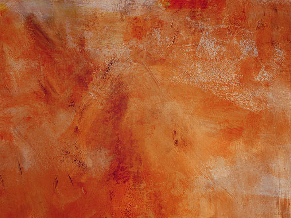 Wall Art - Painting - Fall Golden Hour- Abstract Art By Linda Woods by Linda Woods