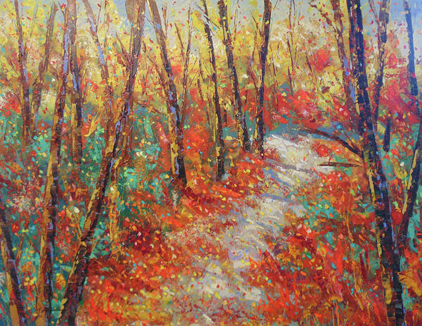 Painting - Fall In Asheville Nc by Frederic Payet