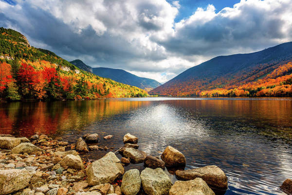 Photograph - Fall In Franconia Notch by Robert Clifford
