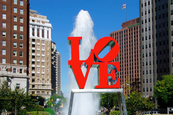 Wall Art - Photograph - Fall In Love With Philadelphia by Bill Cannon