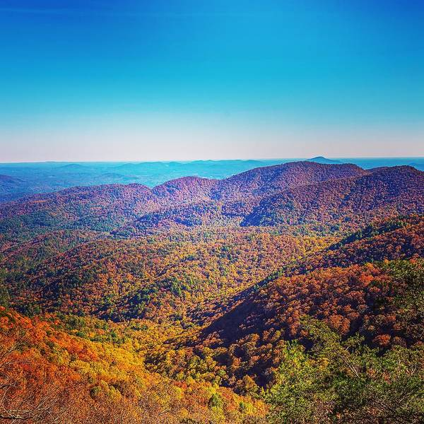Photograph - Fall In North Georgia by Keith Smith