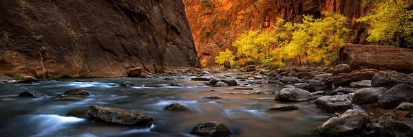 Photograph - Fall In The Narrows Pano by Ryan Smith