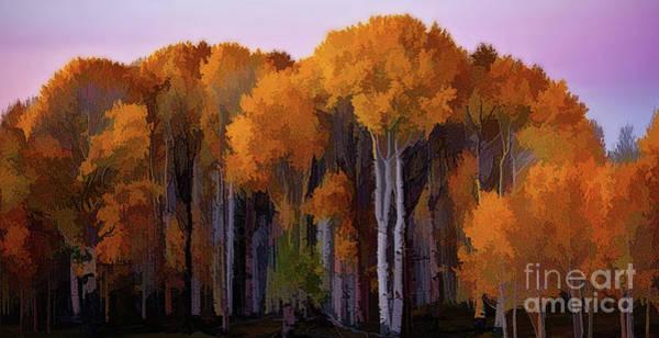 Jenlo Digital Art - Fall by Jim Hatch