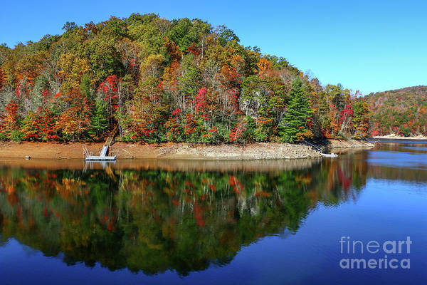 Photograph - Fall Lake Peninsula by Tom Claud